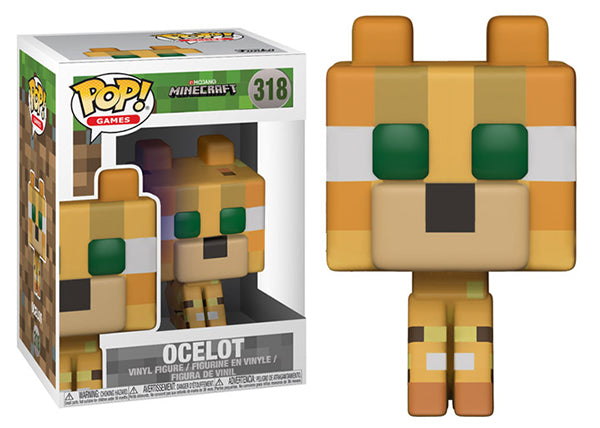 Ocelot (Minecraft) 318  [Damaged: 7/10]