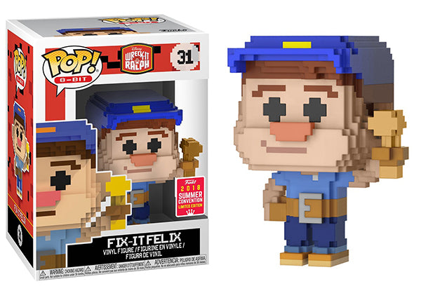 Fix-It Felix (Wreck-It Ralph, 8-Bit) 31 - 2018 Summer Convention Exclusive