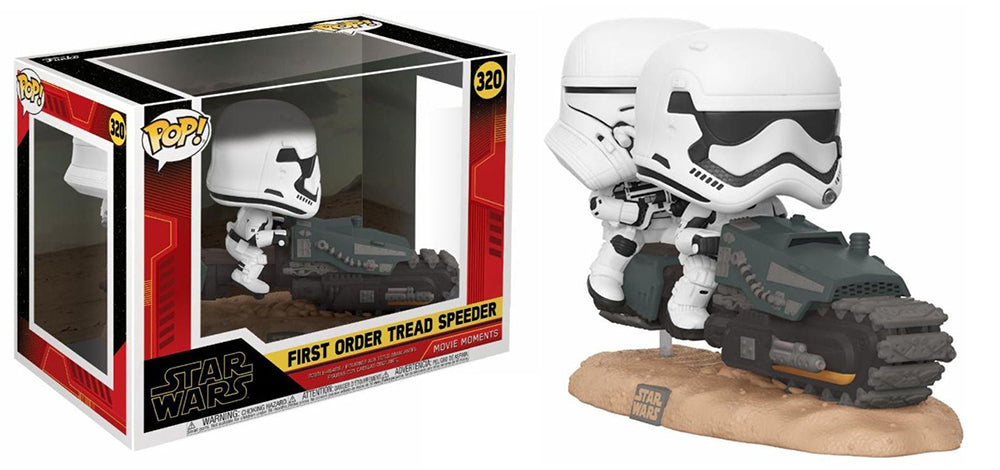 First Order Tread Speeder (Movie Moments) 320 [Damaged: 7.5/10]