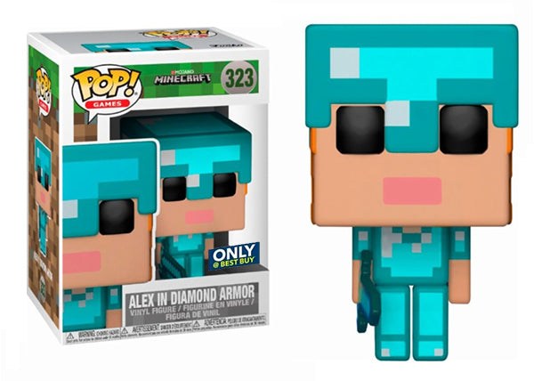 Alex in Diamond Armor (Minecraft) 323 - Best Buy Exclusive
