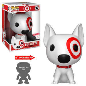 Bullseye (10-Inch, Ad Icons) 32 - Target Exclusive  [Damaged: 6/10]  **Missing Sticker**