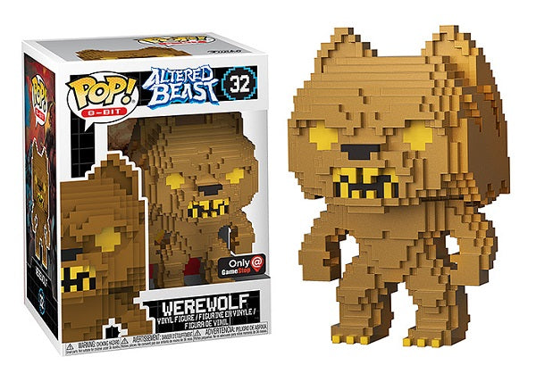 Werewolf (8-Bit, Altered Beast, Gold) 32 - Gamestop Exclusive  [Damaged: 7/10]