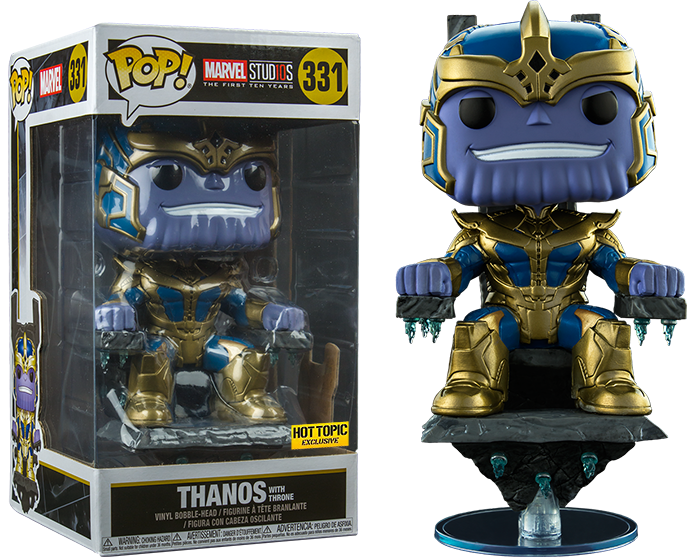 Thanos with Throne 331 - Hot Topic Exclusive  [Damaged: 7/10]