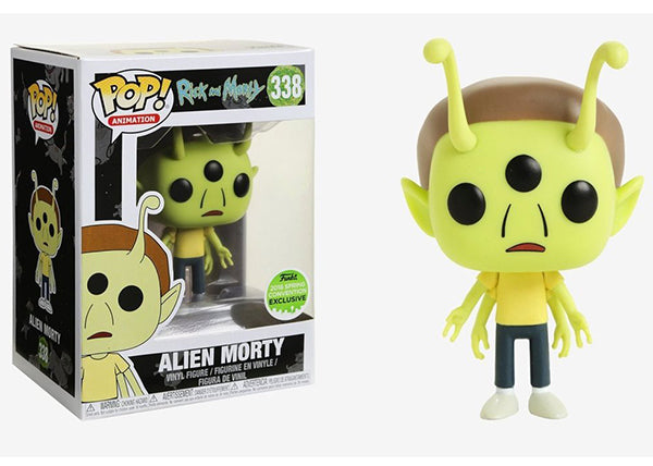 Alien Morty (Rick & Morty) 338 - 2018 Spring Convention Exclusive  [Damaged: 7.5/10]