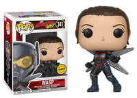 Wasp (Unmasked, Ant-Man and the Wasp) 341  **Chase**  [Damaged: 7.5/10]