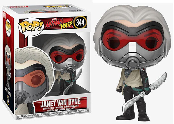 Janet Van Dyne (Ant-Man and the Wasp) 344  [Damaged: 7.5/10]