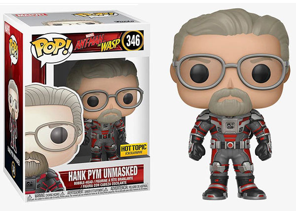 Hank Pym (Unmasked, Ant-Man and the Wasp) 346 - Hot Topic Exclusive