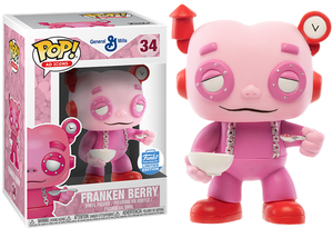 Franken Berry (Cereal Bowl, Ad Icons) 34 - Funko Shop Exclusive