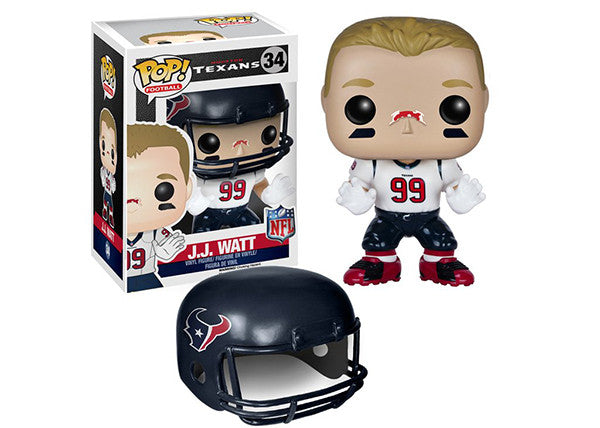 J.J. Watt (Wave 2, Houston Texans, NFL) 34 Pop Head