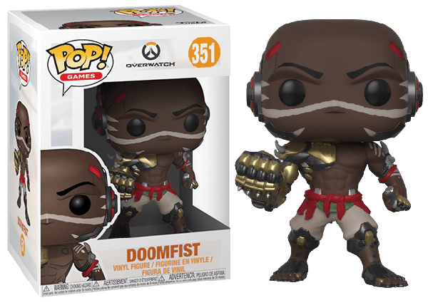 Doomfist (Overwatch) 351 [Damaged: 7.5/10]