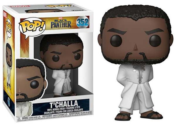 T'Challa (White Robe, Black Panther) 352  [Damaged: 7.5/10]