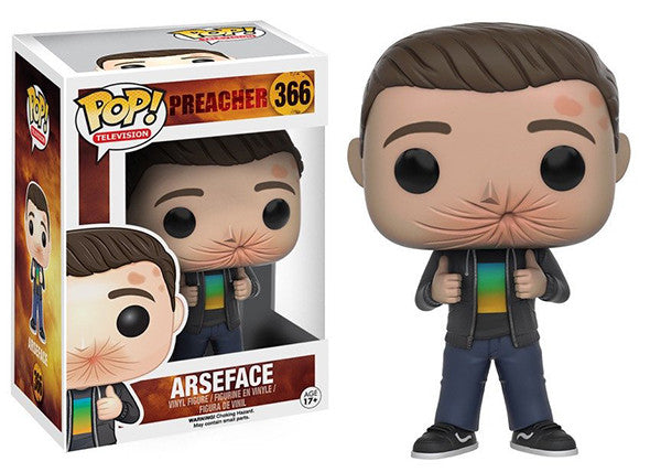 Arseface (Preacher) 366  [Damaged: 6/10]