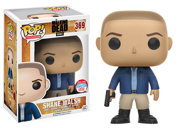 Shane Walsh (The Walking Dead) 369 - 2016 NYCC Exclusive Pop Head