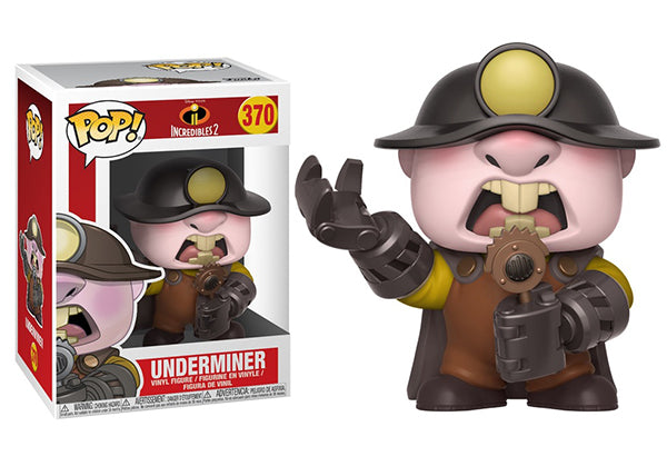 Underminer (The Incredibles 2) 370  [Damaged: 7.5/10]