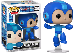 Mega Man (Action Pose) 376  [Damaged: 7/10]