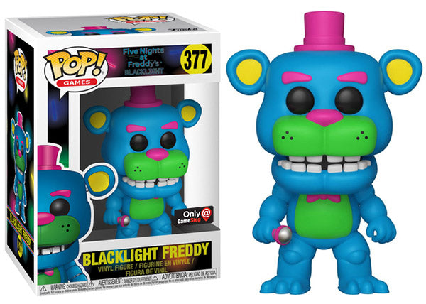 Blacklight Freddy (Five Nights at Freddy's) 377 - Gamestop Exclusive