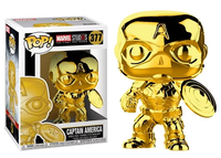 Captain America (Gold Chrome) 377