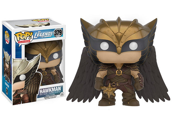 Hawkman (Legends of Tomorrow) 379  [Damaged: 7/10] Pop Head