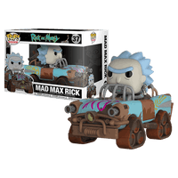 Mad Max Rick (Rides, Rick & Morty) 37  [Damaged: 7.5/10]