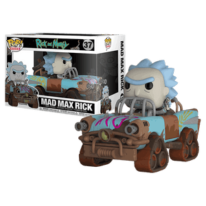 Mad Max Rick (Rides, Rick & Morty) 37  [Damaged: 7/10]