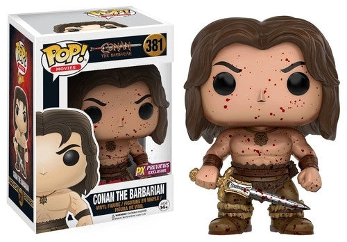 Conan The Barbarian (Bloody) 381 - Previews Exclusive  [Damaged: 7.5/10]