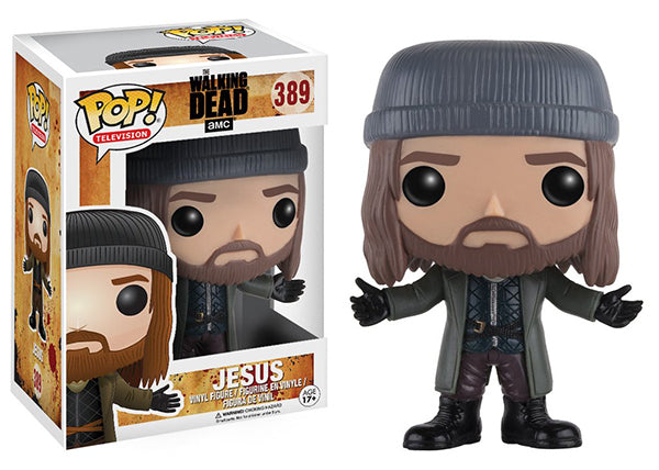 Jesus (The Walking Dead) 389  [Damaged: 7/10]