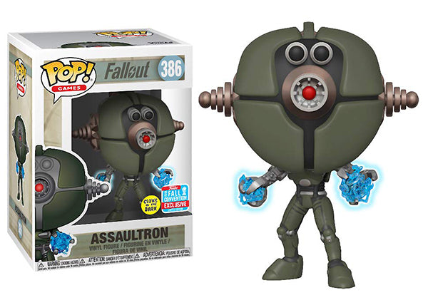 Assaultron (Glow in the Dark, Fallout) 386 - 2018 Fall Convention Exclusive