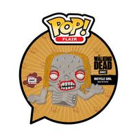 Pop Flair Iron-On Patches The Walking Dead - Bicycle Girl
