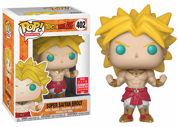 Super Saiyan Broly (Dragonball Z) 402 - 2018 Summer Convention Exclusive  [Damaged: 6/10]