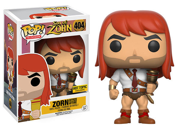 Zorn (Office Attire, Son of Zorn) 404 - Hot Topic Exclusive Pop Head