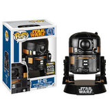R2-Q5 41 - 2015 Galactic Convention Exclusive  [Damaged: 5/10] Pop Head