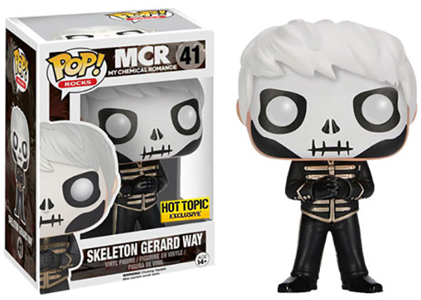 Skeleton Gerard Way (My Chemical Romance) 41 - Hot Topic Exclusive