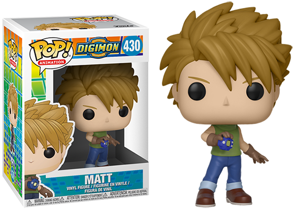 Matt (Digimon) 430  [Damaged: 7.5/10]