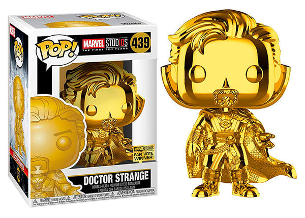 Doctor Strange (Chrome Gold, Infinity War) 439  [Damaged: 7.5/10]