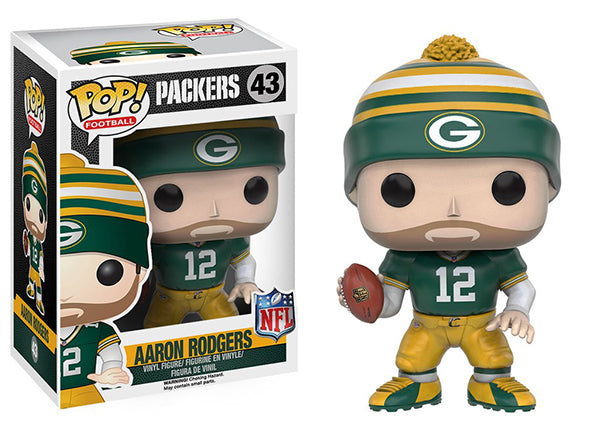 Aaron Rodgers (Wave 3, Green Bay Packers, NFL) 43 Pop Head