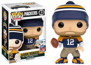 Aaron Rodgers (Throwback, Packers, NFL) 43 - Toys R Us Exclusive [Damaged: 7.5/10]