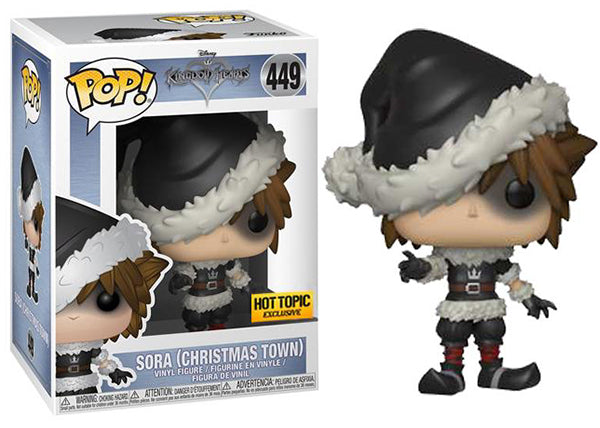 Sora (Christmas Town, Kingdom Hearts) 449 - Hot Topic Exclusive