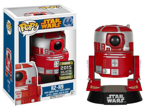 R2-R9 44 - 2015 Galactic Convention Exclusive  [Damaged: 7.5/10]