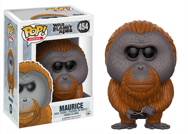 Maurice (Planet of the Apes) 454  [Damaged: 7.5/10]