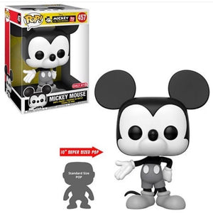Mickey Mouse (Black & White, 10-Inch) 457 - Target Exclusive  [Condition: 7.5/10]