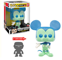 Mickey Mouse (Blue & Green, 10-Inch) 457 - Funko Shop Exclusive  [Condition: 7.5/10]
