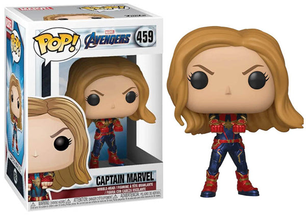 Captain Marvel (Endgame) 459  [Damaged: 7.5/10]