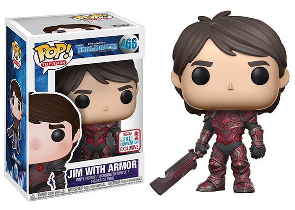 Jim with Armor (Red, Troll Hunters) 466 - 2017 Fall Convention Exclusive  [Damaged: 7/10]