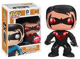 Nightwing (Red, Metallic) 40 - Fugitive Toys Exclusive  [Condition: 7.5/10]