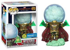 Mysterio (Glow in the Dark, Far From Home) 473 - Walmart Exclusive  [Damaged: 7.5/10]