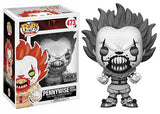Pennywise (w/ teeth, Black & White, IT) 473 - FYE Exclusive [Damaged: 7.5/10]
