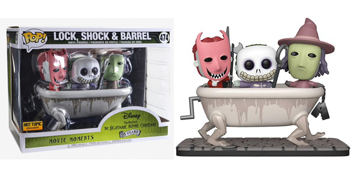 Lock, Shock, & Barrel (Movie Moments) 474 - Hot Topic Exclusive  [Condition: 9/10]