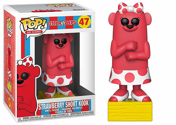 Strawberry Short Kook (Otter Pops, Ad Icons) 47 [Damaged: 7.5/10]