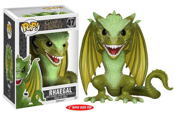 Rhaegal (6-Inch, Game of Thrones) 47  [Damaged: 6/10]
