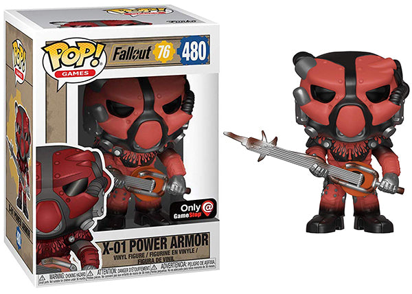 X-01 Power Armor (Fallout 76) 480 - GameStop Exclusive